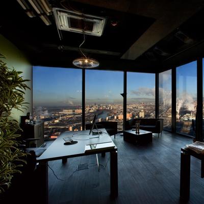Дизайн офиса в Москва-Сити